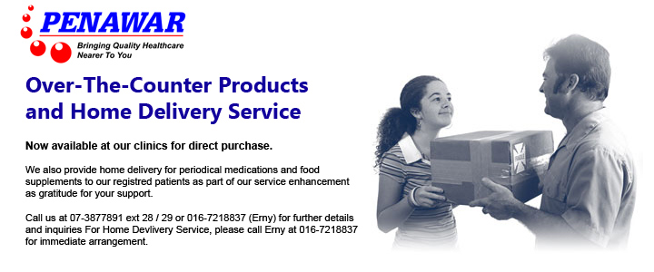 OTC Product Sales and Delivery